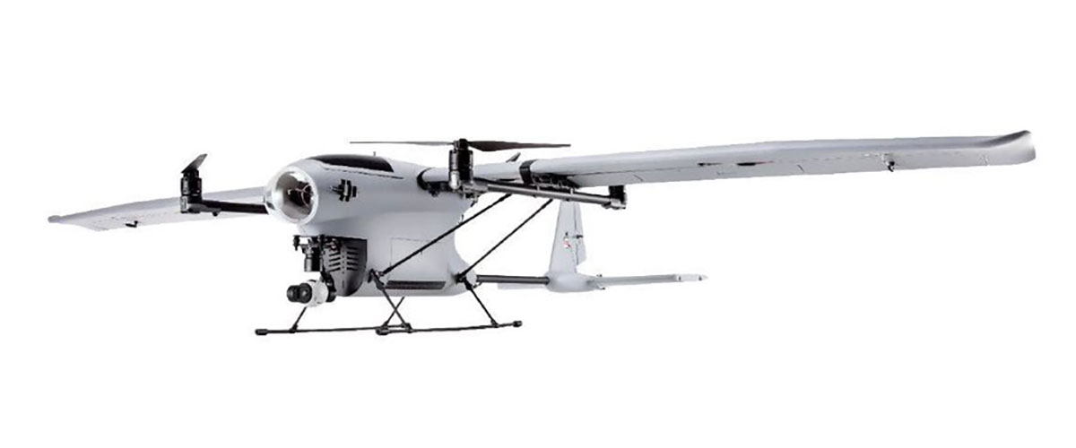 DJI VTOL fixed wing